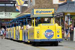 Wildwood Boardwalk Tramcar